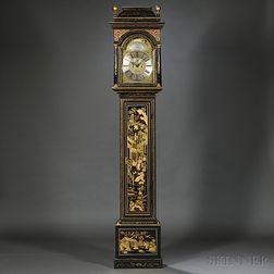 Thomas Hutchinson Japanned Tall Clock