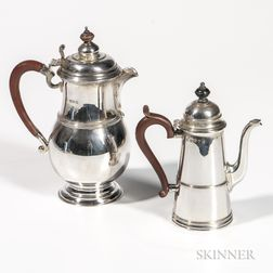 Two George V Sterling Silver Items