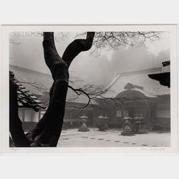 Paul Caponigro (American, b. 1932)      Temple Hiei-San, Kyoto, Japan