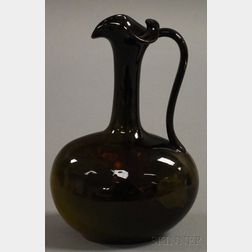Rookwood Pottery Standard Glaze Holly-decorated Ewer
