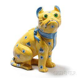 Emile Galle Pug Dog