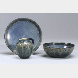 Three Pieces of Newcomb Pottery