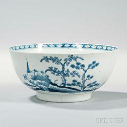 Dr. Wall Worcester Porcelain Bowl