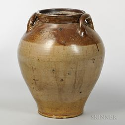 Two-gallon Early Stoneware Jar