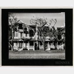 Walker Evans (American, 1903-1975)       Folk Victorian Houses, Ocean Grove, New Jersey