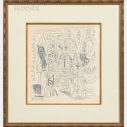 After Pablo Picasso (Spanish, 1881-1973)      L'atelier de Cannes