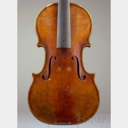 Czech Violin, Juzek Workshop, Prague, c. 1920