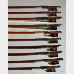 Ten Violin Bows