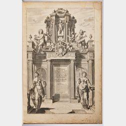 Marolles, Michel de (1600-1681) Tableaux du Temple des Muses Representant les Vertus, et les Vices.