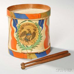 Paint-decorated Toy Drum
