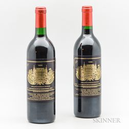 Chateau Palmer 1989, 2 bottles