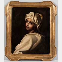 After Guido Reni (Italian, 1575-1642)      Portrait of Beatrice Cenci