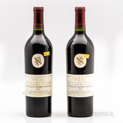 Hess Collection Cabernet Sauvignon Napa Valley 1994, 2 bottles