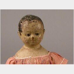 Izannah Walker Oil Painted Cloth Doll