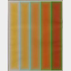 Richard Joseph Anuszkiewicz (American, b. 1930)      Untitled