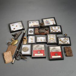 Group of Civil War Relics