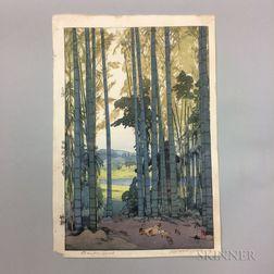 Hiroshi Yoshida (1876-1950), Bamboo Wood