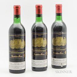 Chateau Palmer 1970, 3 bottles