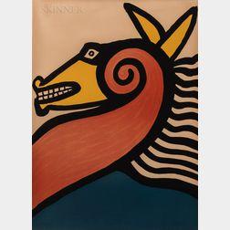Alexander Calder (American, 1898-1976)      Untitled (Horse)
