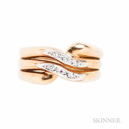 18kt Gold and Diamond Ring, H. Stern
