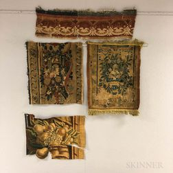 Four Tapestry Fragments