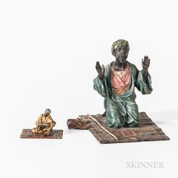 Two Vienna Cold-painted Bronzes