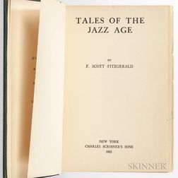 Fitzgerald, F. Scott (1896-1940) Tales of the Jazz Age.