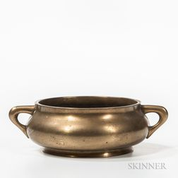 Polished Bronze Censer