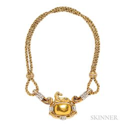 18kt Gold and Diamond Necklace, Chaumet