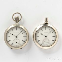 Two Howard Series III Open-face Watches