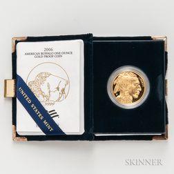 2006-W $50 Gold Buffalo Proof.     Estimate $1,000-1,500