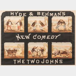 Hyde & Behman's New Comedy, The Two Johns.