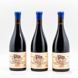 Pax Syrah Walker Vine Hill Vineyard 2003, 3 bottles