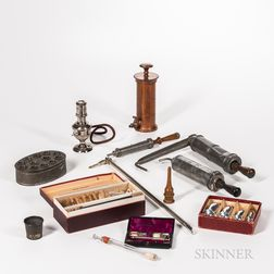 Collection of 19th and 20th Century Medical Instruments and Devices