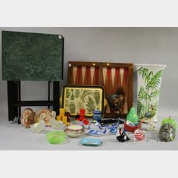 Assortment of Decorative and Household Items