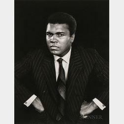 Yousuf Karsh (Canadian, 1908-2002)      Muhammad Ali