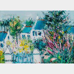 Yolande Ardissone (French, b. 1927)    Fleurs
