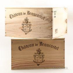 Chateau de Beaucastel Chateauneuf du Pape 2006, 12 bottles (2 x owc)
