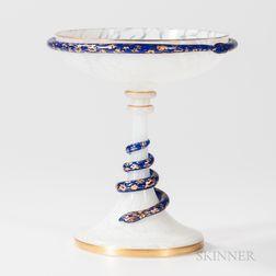 Italian Glass Compote