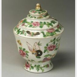 Porcelain Bowl and Cover