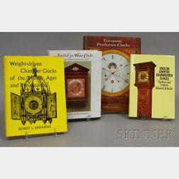 Four Titles on Early European Clocks