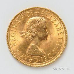 1965 British Gold Sovereign