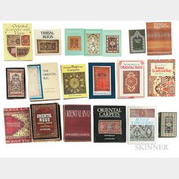 Twenty-two Oriental Rug Books