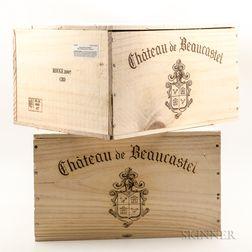 Chateau de Beaucastel Chateauneuf du Pape 2007, 12 bottles (2 x owc)