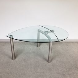 "Reflex ""Policleto Goccia"" Teardrop Extension Table"