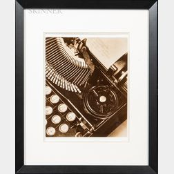 Tina Modotti (Italian, 1896-1942)      Mella's Typewriter