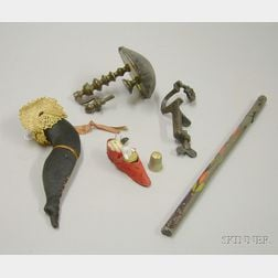Six Early Sewing Implements