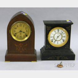 Two Connecticut Mantel Clocks