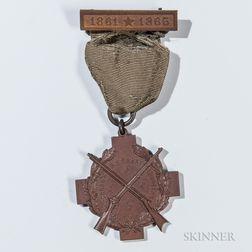 Berdan's Sharpshooters Veteran's Medal