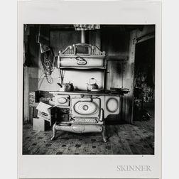 Walker Evans (American, 1903-1975)       Robert Frank's Stove, Nova Scotia